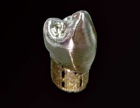 形状の異なるオーダーメイド品を簡単に製作できます。一度の造形で形状の異なる部品も同時に造形可能。